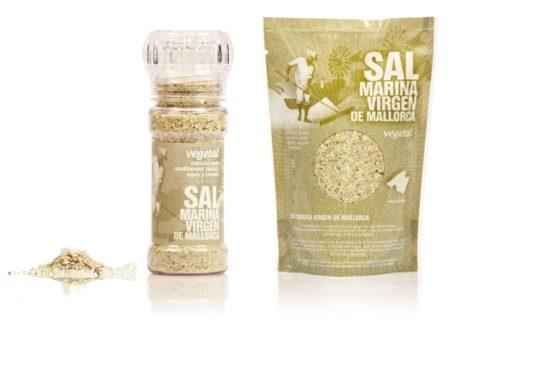 panenská morská soľ vegetal